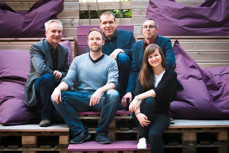 ÖVUS-Team (Niki Laber, Hanns Peter Glock, Florian Mahr, Sabrina Lackner. Manfred Huber)